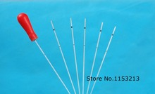 2000pcs /lot Lab disposable micro-capillary pipette capillary blood collection 60ul, get 10 pieces plastic suction separate head