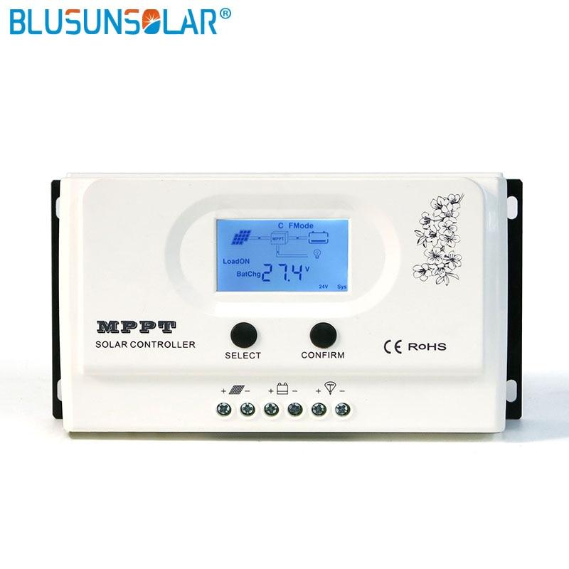 Contrôleur de Charge solaire 20A 15A MPPT régulateur MPPT 12 V 24 V chargeur de batterie solaire automatique MPPT fonction RS485 en option