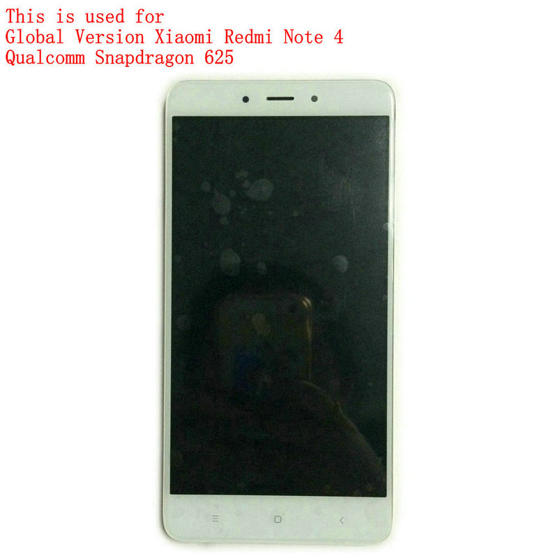imágenes para Pantalla táctil de pantalla para Snapdragon 625 Global Versión Xiaomi Redmi Nota 4/MTK Helio X20 versión Redmi Nota 4 + herramientas de reparación