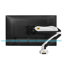 "NB F80 Desktop Mola De Gás de 17-27 ""LCD LED Monitor de Titular Braço Monitor de Movimento Total de Montagem de Carga 2-6.5kgs"