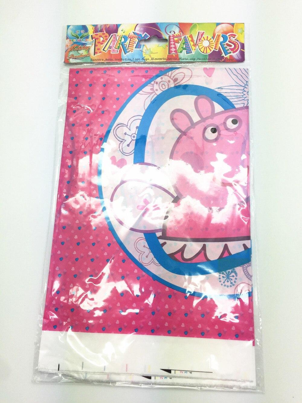 comprar unid cm mantel fiesta de cumpleaos de dibujos animados de cerdo pappa tema plastice desechables mantel para los nios de
