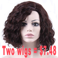 Medium Haircuts Afro Kinky Curly Wigs For Black Women Short Brown Cosplay Wig African Short Wigs For Black Women Cheap Wigs