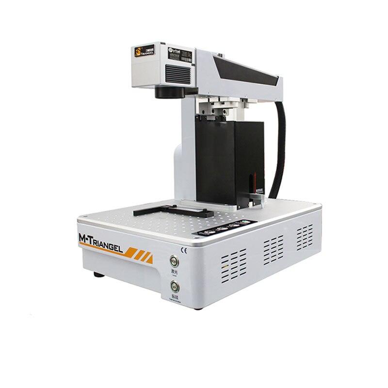 G Queridos Telefone Reparação LCD Máquina Do Laser Para o iphone X XS Max 8 8 + Back Removedor De Vidro LCD de Separação quadro de Corte Automático Cheio