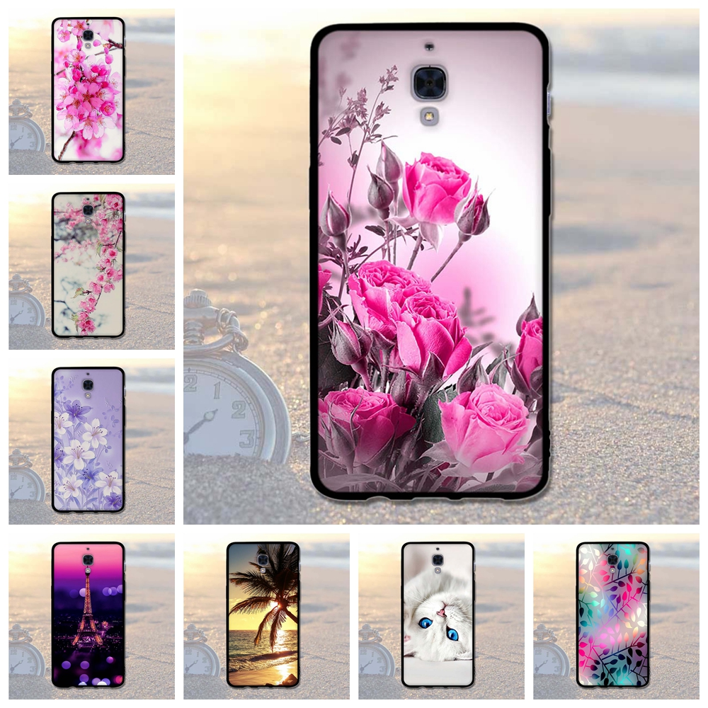 Phone Case for OnePlus 3T 3 Case A3000 Three Cases 3D Relief Protective Back Cover for One Plus 3 Fundas OnePlus3 T Coque Bags