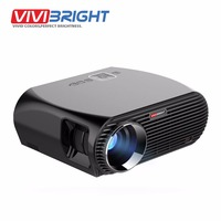 VIVIBRIGHT Android 6 0 1 LED Projector GP100 UP 1280x800 Resolution 3200 Lumens Built In WIFI