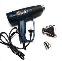Xeast 220 V 2000 W 50-600 C Elettrica Industriale Pistola Ad Aria Calda Pistole di Calore Termoregolatore con diversi Ugelli