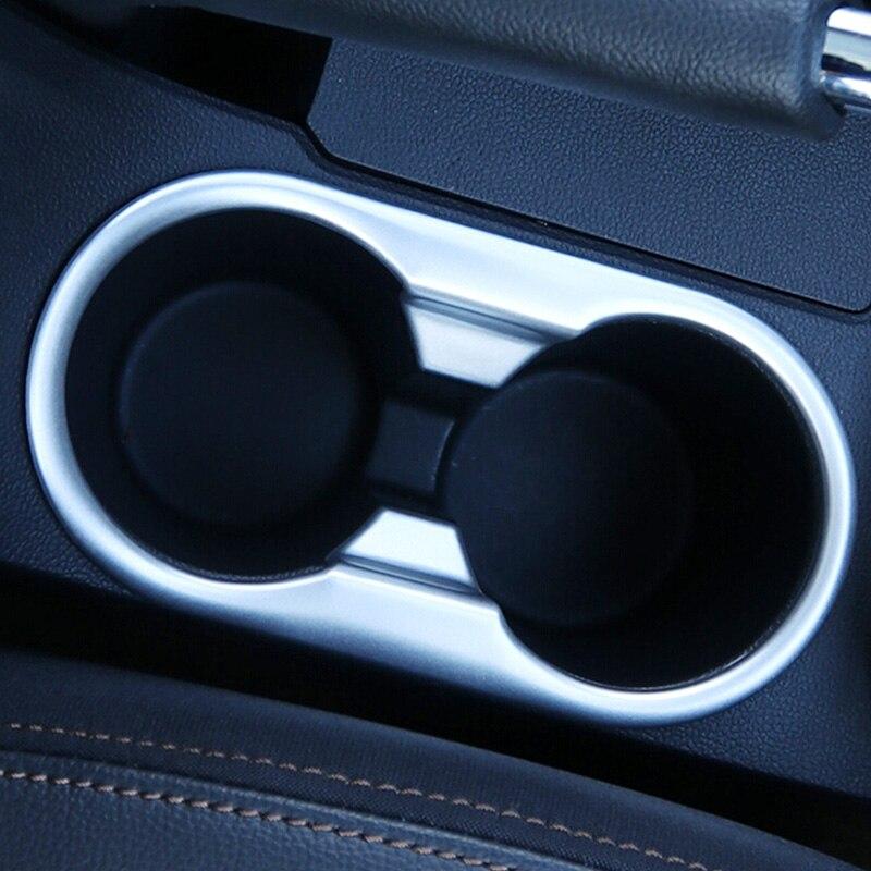 Cromo Interior Coche accesorios frontal Copa Soporte De Coche Adhesivo