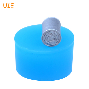 Molde de silicona para latas FYL407U de 15,3mm en 3D, Fondant para casa de muñecas, decoración para pasteles, velas, Chocolate, malvaviscos, resina, molde de calidad alimentaria