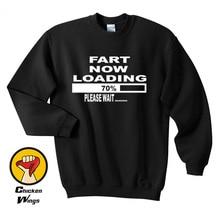 Fart Now Loading Funny Shirt Crewneck Sweatshirt Unisex More Colors XS - 2XL