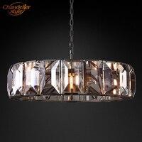 Lustre de Cristal de luxo Iluminação Lustre Moderno Lustre de Cristal Lustre Lâmpada LED Lustre Luz Suspensão do Dispositivo Elétrico