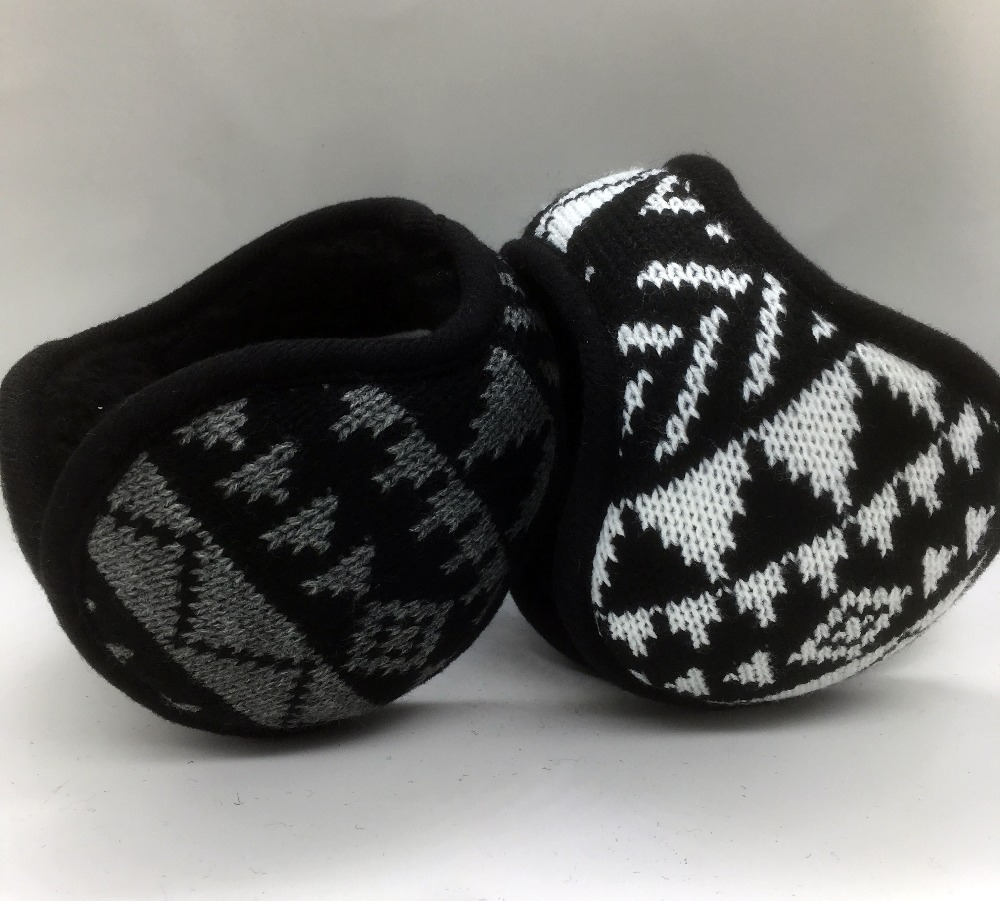 2018 New Style Winter Warm Adjustable Earmuffs  Knitting Earcap