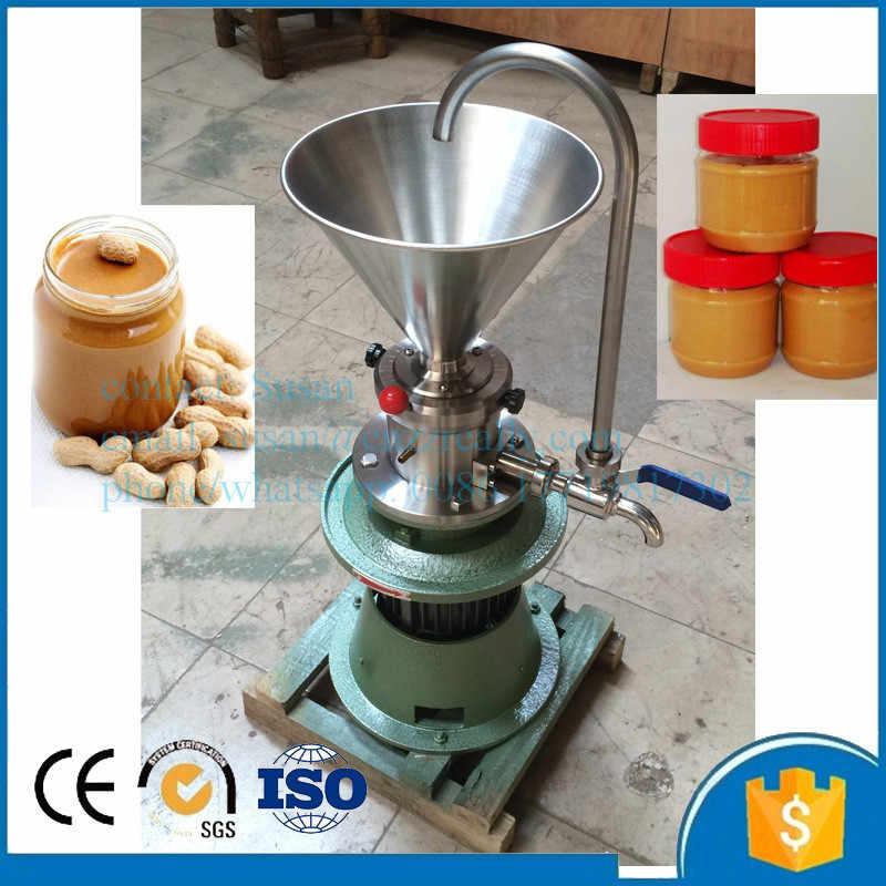 Colloid mill/homogenizer/crusher Peanut butter Colloid Grinder Colloid Mill  tahini sauce/chili sauce/soymilk Grinding Machine