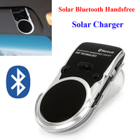 Solar Powered Bluetooth Car Kit Hands Free Bluetooth Speaker in Car Handsfree Calling Solar Bluetooth Speakerphone