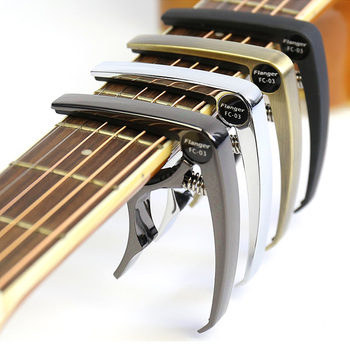 Guitar Capo For Acoustic Classic Electric Guitar Musical Instrument Tune Adjusting Clamps Flanger FC-03 Guitar Parts Accessory flanger fc 09 acoustic guitar capo premium universal capo for 6 string classica electric guitar ukelele