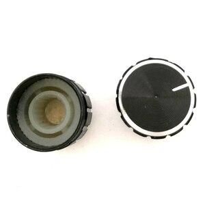 Image 4 - 500 個 15*17 ミリメートルアルミ合金ポテンショメータノブロータリースイッチボリュームコントロールノブ黒