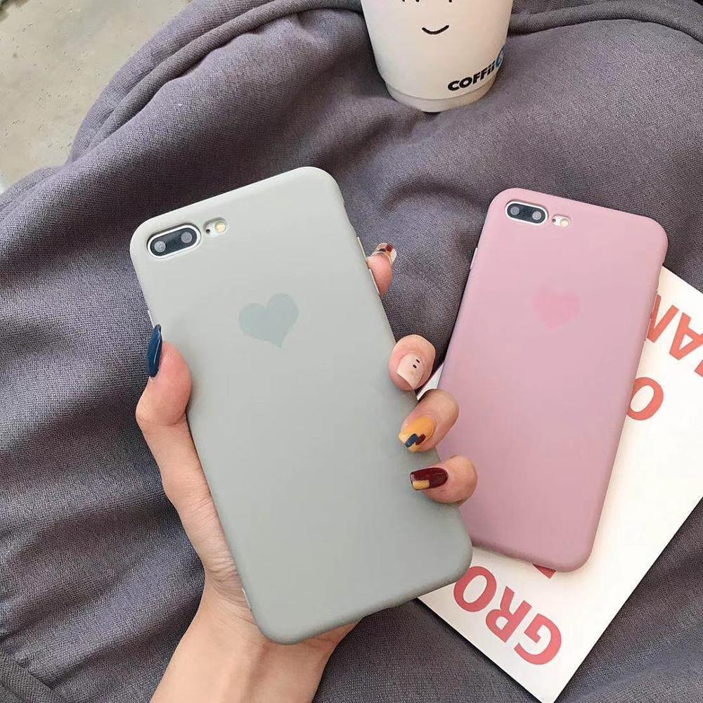Simple Small Love Heart Soft Case For Huawei P30 P20 P10 Pro Honor 10 9 Mate 20 10 Pro Nova 3 2s Case Silicone Cover Fundas Capa