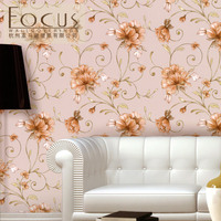 Chinese style New Fashion Contracted wall paper The sitting room the bedroom restaurant wallpaper fresh natural paragraph
