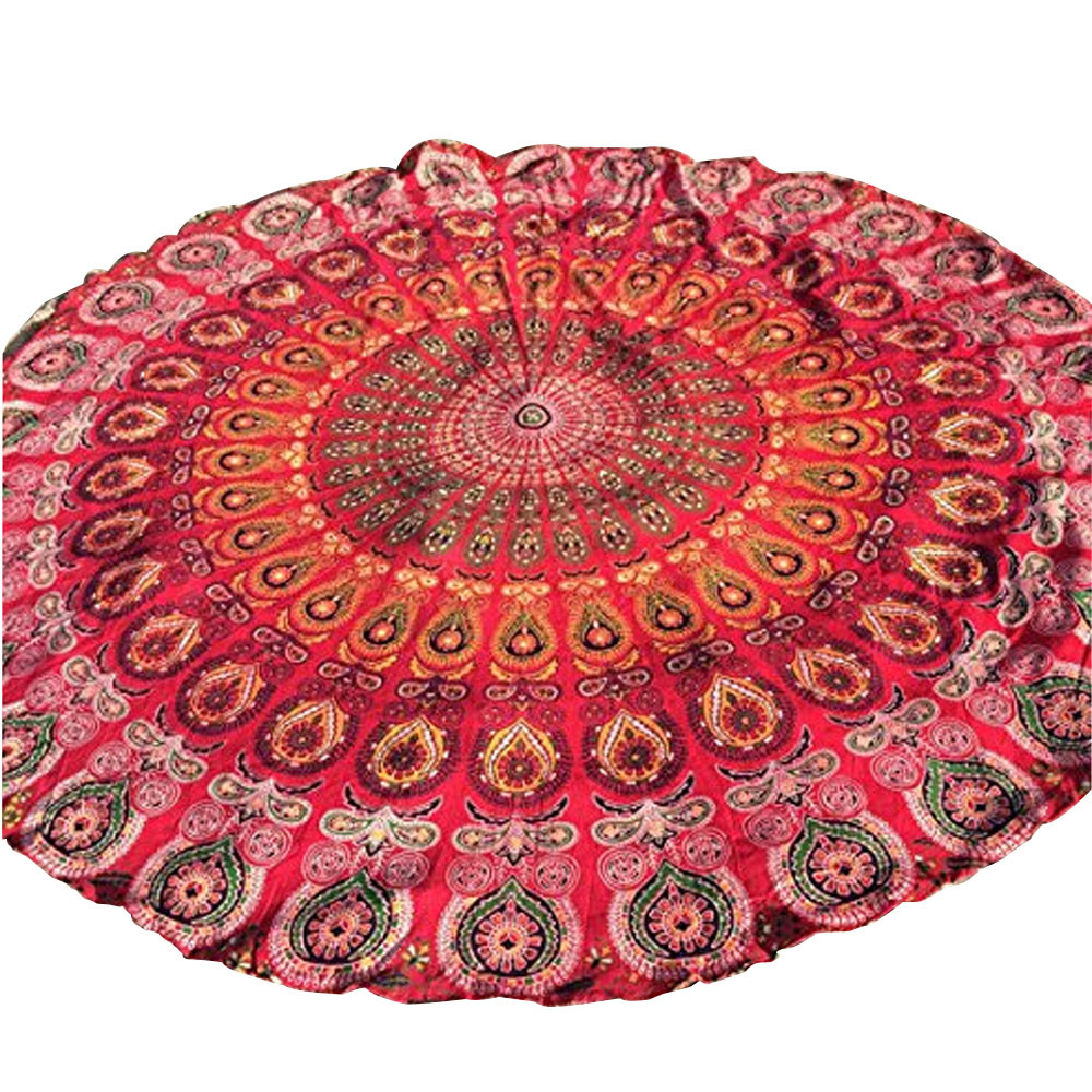 # Vestido 2017 Round Beach Sexy Bohemian Casual Pool Home Shower Towel Blanket Table Cloth Mat Summer Ladies tops17