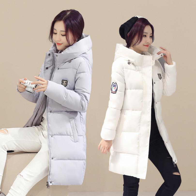 Down Jacket Winter Jacket Women's Natural Large size 2018 new design winter ladies jacket women high collar long section X3 2017 winter new ladies down jacket