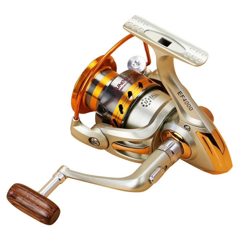 NEW HOT SALES EF500-7000 Hot Sale Ice carp fly ocean rock spinning fishing reel 12 HPCR  ...