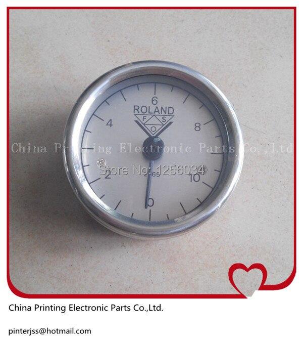 Man Roland gauge, man roland spare parts pressure meter