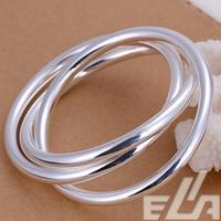 New Arrival 2015 Indian Jewelry 925 Silver Pulseiras Cuff Bracelets Bangle For Women Lose Moneny