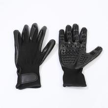1 Pair Pet Grooming Gloves Dog Cat Hair Cleaning Brush Comb Rubber Five Fingers Deshedding Glove For Supplies