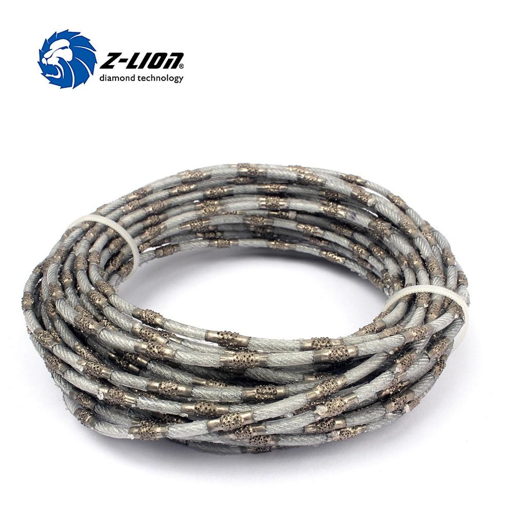 Z-LION 4 Mm Diamond Wire Saw Super Thin Diamond Tools For Cutting Marble Jade Concrete Stone Diamond Cutting Wire