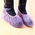 Sapato capas descartáveis tampa da sapata do PE impermeável engrossado de atacado