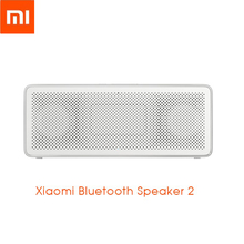 Xiaomi Portable Speaker Bluetooth 2 Square Box HD Sound Outdoor Ultra Long Time Playing Mini Subwoofer Alloy