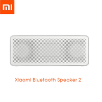 Xiaomi Portable Speaker Bluetooth Speaker 2 Square Box HD Sound Outdoor Ultra Long Time Playing Mini Subwoofer Alloy Speaker