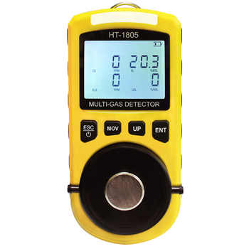 4 in 1 Gas Detector Oxygen O2 H2S Carbon Monoxide CO Flammable Gas Analyzer Monitor Toxic Gas and Harmful Gas Leak Detector - SALE ITEM - Category 🛒 Tools