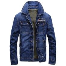Spring Men 's Denim Jackets Brand Designer Spring Mens Jacket and Coat Overcoats Plus Size 3XL Mens Coats Tactical Clothing C899