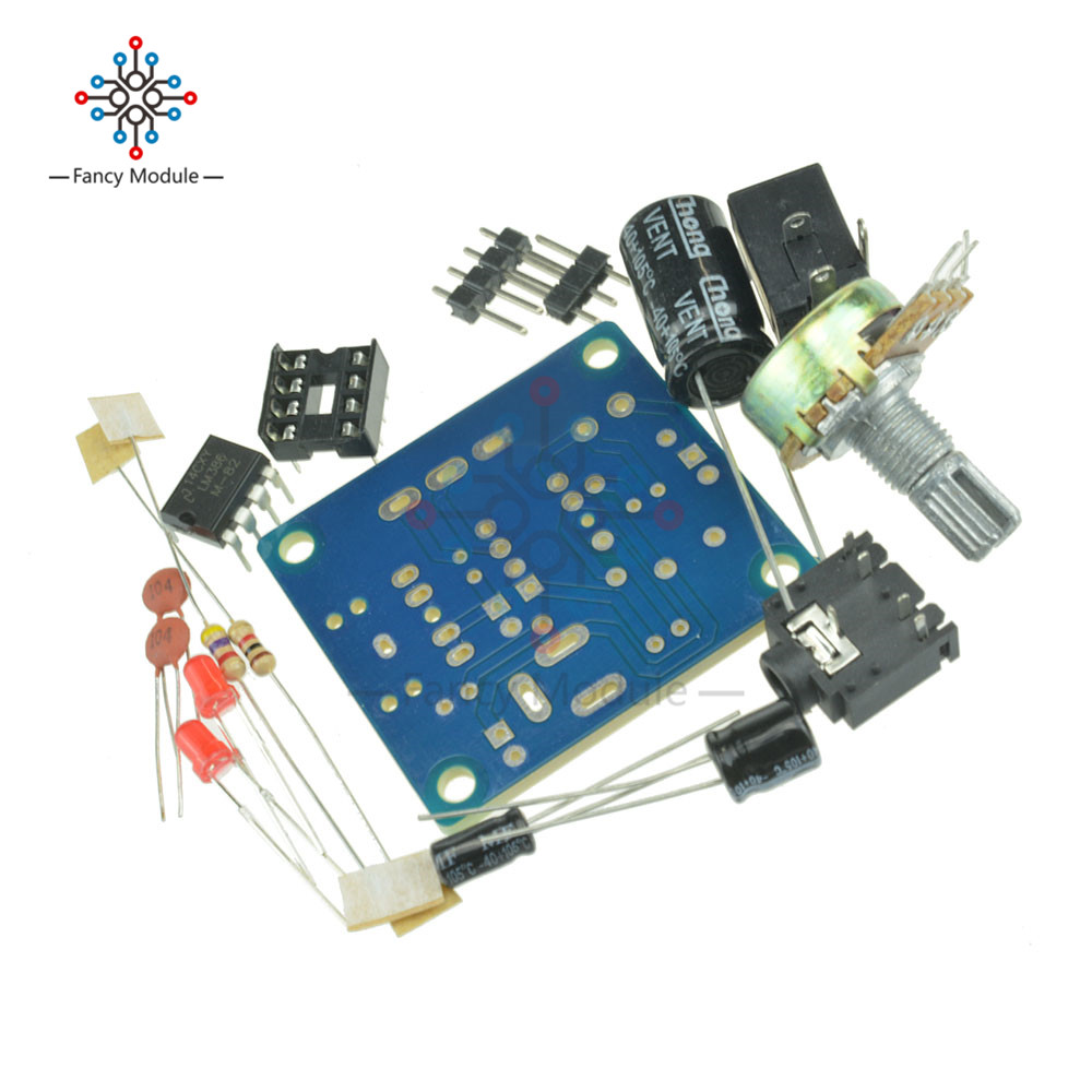 Detail Feedback Questions About Diy Kit Lm386 Super Mini Audio Door Phone Circuit Using 011048 05 01