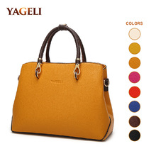 Colorful Leather Women's Handbags