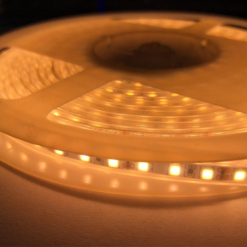 Led Strip 5M/Lot 2835 SMD More Brighter Than 3528 5050 LED Strip light DC 12V 120LEDs/M Indoor Decorative Tape White/Warm White