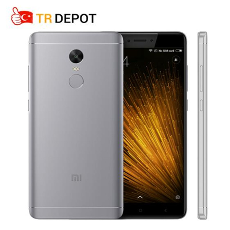 "Original Xiaomi Redmi Note 4X 3GB RAM 16GB ROM Snapdragon 625 Octa Core 5.5"" FHD 4100mAh Fingerprint ID Mobile Phone"
