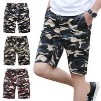 aa6ba45306 ... camuflaje Casual Hombre Pantalones 4XL. Varsanol Summer Shorts Men  Cotton Drawstring Bermuda Short For Men Camouflage Casual Shorts Homme Short  Pants