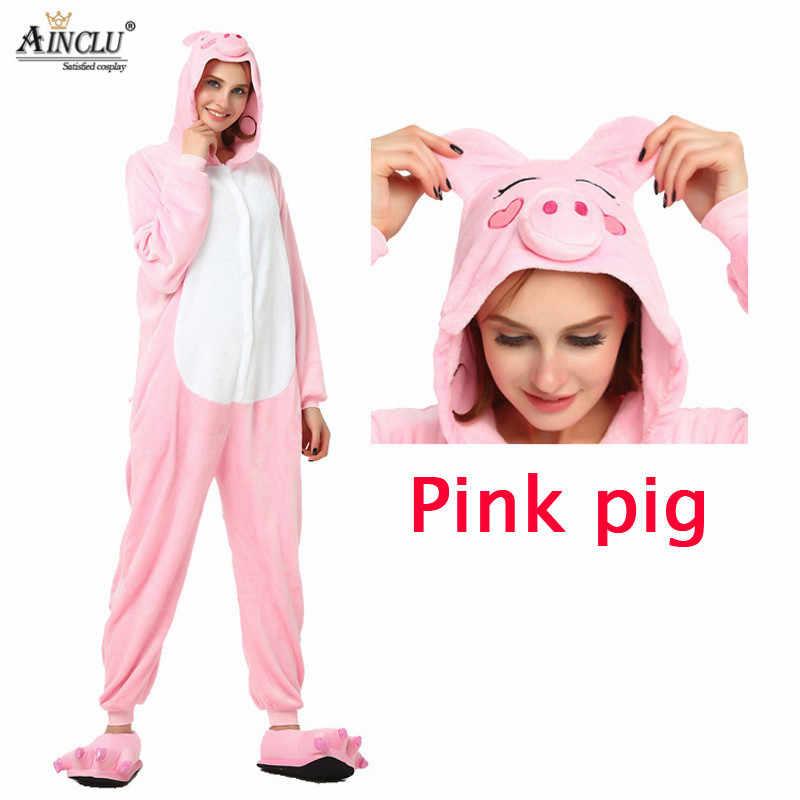 Оптовая продажа весна и осень розовый Пижама поросенок обувь наборы для  ухода за кожей мультфильм пижамы 31eeffb8ce80e