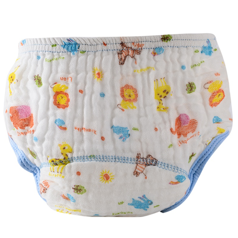 Newborn Waterproof Baby Cartoon Diapers Reusable Breathable Diaper Washable Cloth Diapers Printed Diaper M1