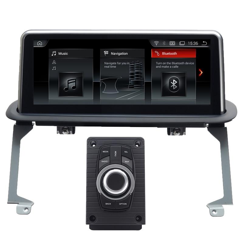 10,25 pulgadas de pantalla Android 8,1 PX6 seis Core GPS de navegación del coche para BMW X5 E53 1999-2006 Auto Radio reproductor Multimedia con Idrive
