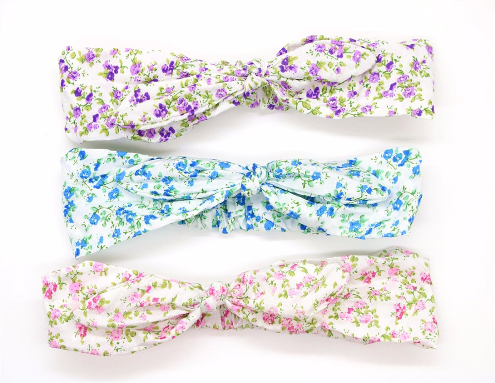2019 New Elastic Butterfly Tie Headscarf for Rabbit Ears Adult Turn Headscarf for Girls Headscarf with Hair Ornament in Women 39 s Hair Accessories from Apparel Accessories