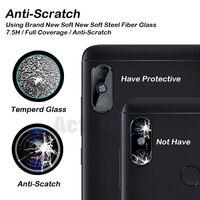 Protector de pantalla de lente de cámara trasera, película protectora para XiaoMi Mi Redmi Note 5 Plus S2 4 Pro Y2, cristal templado Global