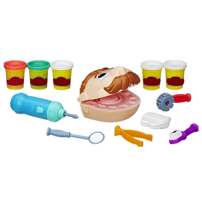 Çocuk Diş Hekimi Atölye Hamuru Simülasyon Doktor Oyuncakları Korumak Diş Oyun Evi Öğrenme Eğitim Oyuncaklar