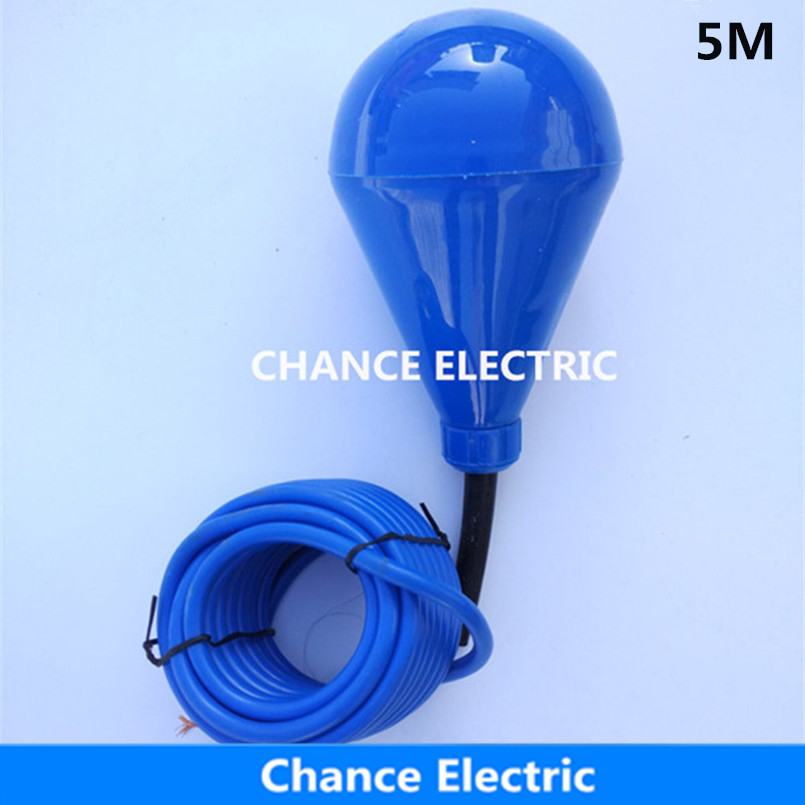 M Pvc Float Level Switch Cable Float Switch Liquid Fluid Water Pump Level No Nc Controller on Level Sensor Float Switch