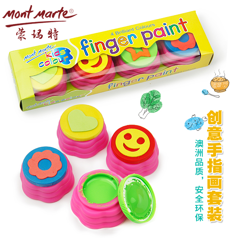Finger painting with seal Non-toxic Drawing Toys children educational toy finger painting tool kit birthday gifts mud painting 8004 12 in 1 kid s bathing non toxic vinyl squeaky toys set multicolored