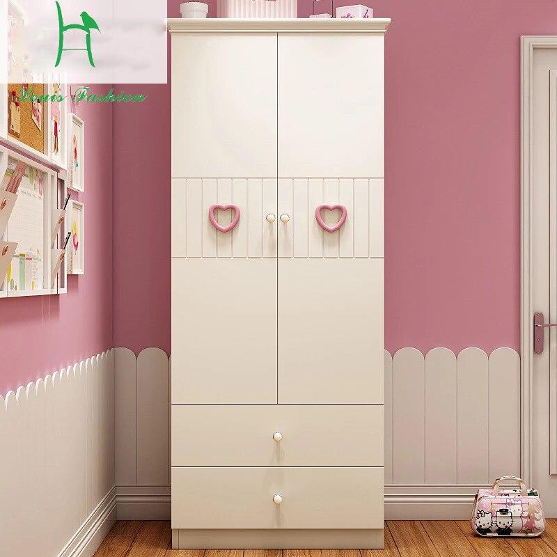US $320.0 |Louis Fashion Children\'s Wardrobe, Children\'s Room, Girls\'  Bedroom, Suite Furniture, Combined Storage, Wooden Big Wardrobe-in  Wardrobes ...