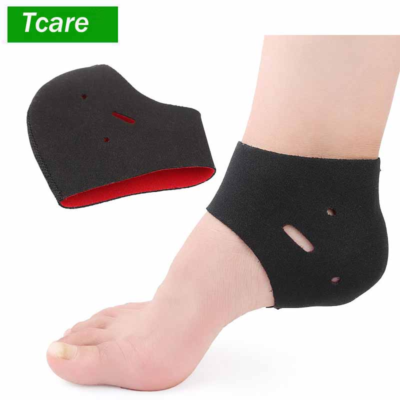 1Pair Silicone Foot Chapped Care Tool Moisturizing Gel Heel Socks Cracked Skin Care Protector Pedicure Health