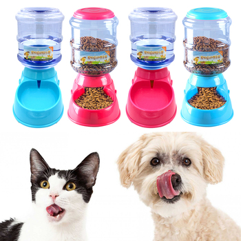 3.5L Plastic Automatic Pet Feeder 1