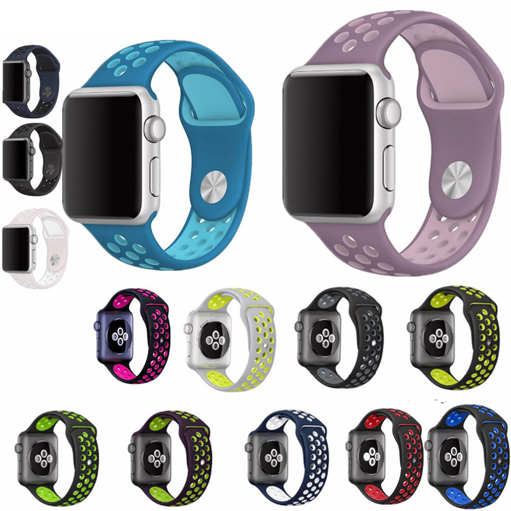 gogoing for Apple Watch + Nike Replacement Watch Strap for Apple Watch Bands Series 3 2 1